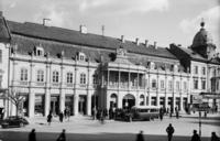 Palatul Banffy la începutul secolului 20.