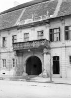 Palatul Teleki la începutul secolului 20